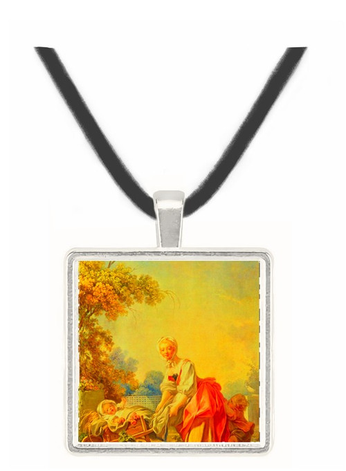 La Bergere - Jean Honore Fragonard -  Museum Exhibit Pendant - Museum Company Photo