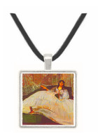 Lady with fan by Manet -  Museum Exhibit Pendant - Museum Company Photo