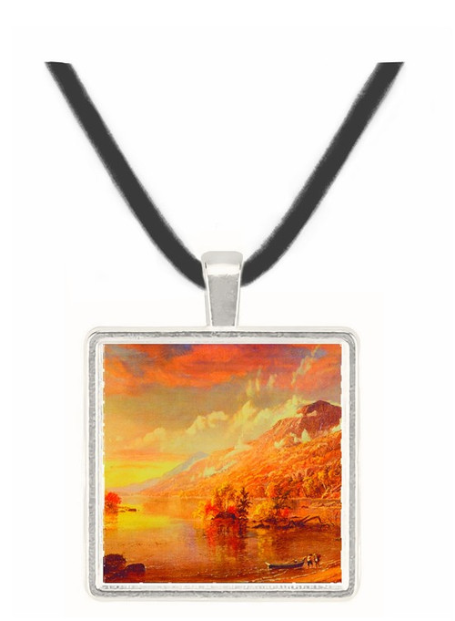 Lake George - Jasper F. Cropsey -  Museum Exhibit Pendant - Museum Company Photo