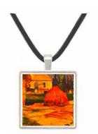 Landscape -  Arles - Paul Gauguin -  Museum Exhibit Pendant - Museum Company Photo