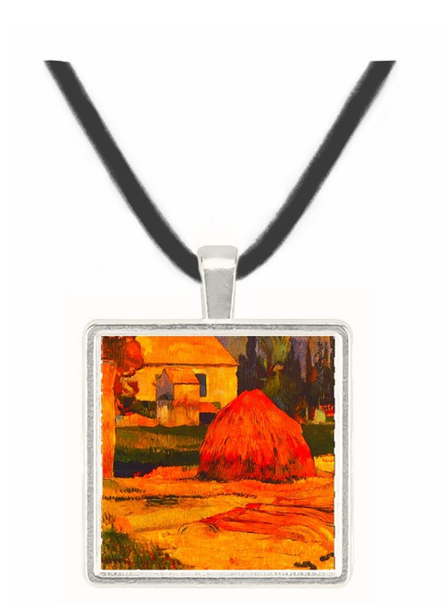 Landscape -  Arles - Paul Gauguin -  Museum Exhibit Pendant - Museum Company Photo