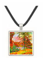 Landscape by Guillaumin -  Museum Exhibit Pendant - Museum Company Photo