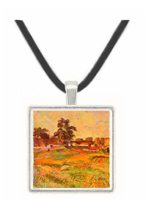 Landscape in Provence - Paul Cezanne -  Museum Exhibit Pendant - Museum Company Photo