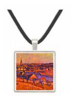 Landscape of Ile de France - Paul Cezanne -  Museum Exhibit Pendant - Museum Company Photo