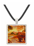 Landscape with Figures - Domenico Zampieri -  Museum Exhibit Pendant - Museum Company Photo