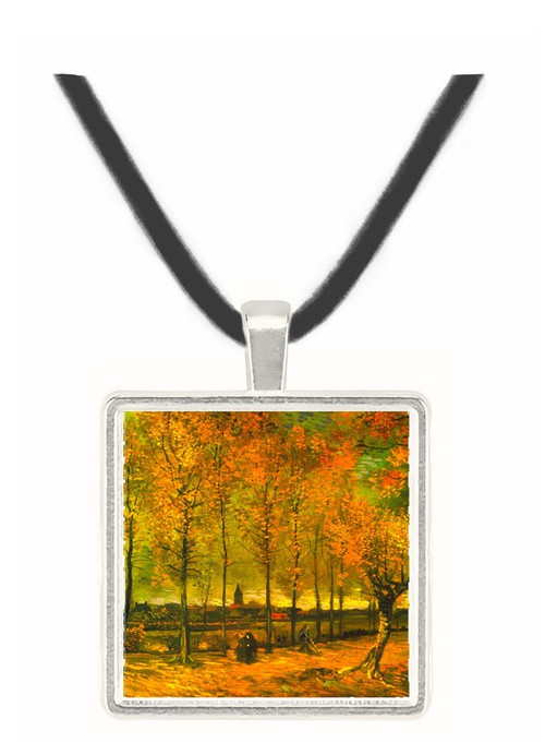 Lane with Poplars -  Museum Exhibit Pendant - Museum Company Photo
