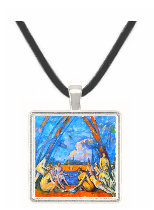 Large Bathers 2 by Cezanne -  Museum Exhibit Pendant - Museum Company Photo