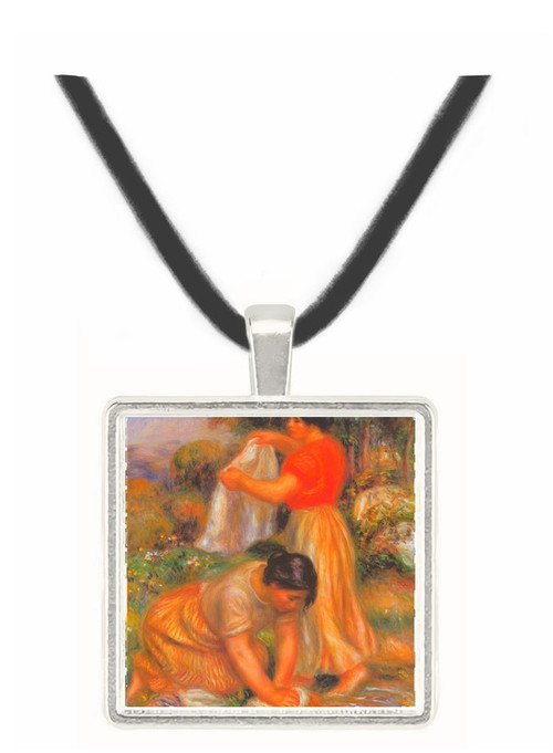 Laundresses #2 by Renoir -  Museum Exhibit Pendant - Museum Company Photo