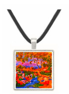 Laundresses -  Museum Exhibit Pendant - Museum Company Photo