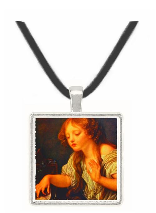 LOiseau Mort - Jean Baptiste Camille Corot -  Museum Exhibit Pendant - Museum Company Photo