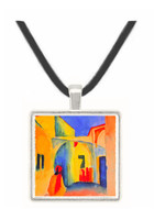 Look in a lane by Macke -  Museum Exhibit Pendant - Museum Company Photo