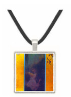 Love by Klimt -  Museum Exhibit Pendant - Museum Company Photo