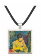 Madame Gauguin by Gauguin -  Museum Exhibit Pendant - Museum Company Photo