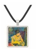 Madame Gauguin by Gauguin -  Museum Exhibit Pendant - Museum Company Photo