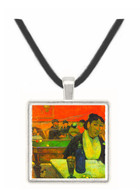 Madame Ginoux in Cafe by Gauguin -  Museum Exhibit Pendant - Museum Company Photo