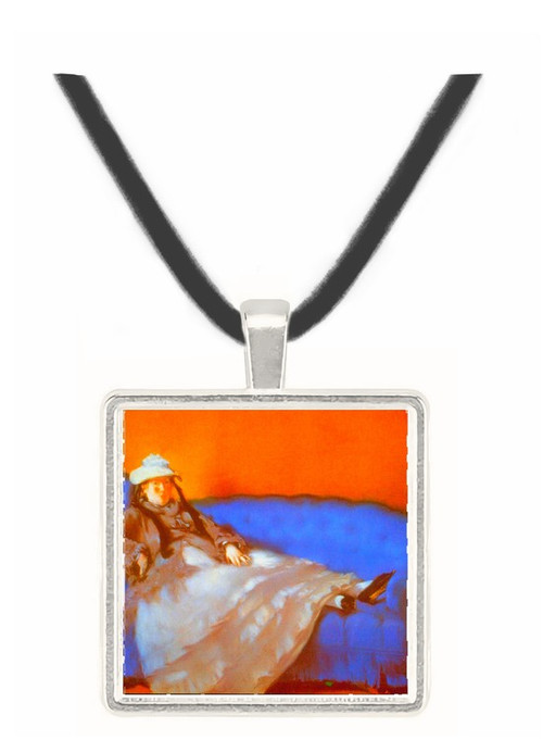 Madame Manet by Manet -  Museum Exhibit Pendant - Museum Company Photo