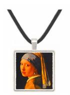 Madchen Mit Perle - Jan Vermeer van Delft -  Museum Exhibit Pendant - Museum Company Photo