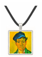 Man with Cap -  Museum Exhibit Pendant - Museum Company Photo