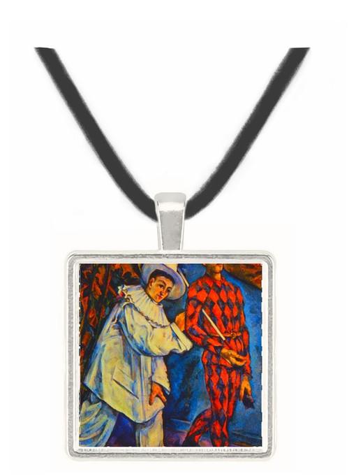 Mardi Gras - Paul Cezanne -  Museum Exhibit Pendant - Museum Company Photo