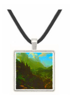 Matterhorn by Bierstadt -  Museum Exhibit Pendant - Museum Company Photo