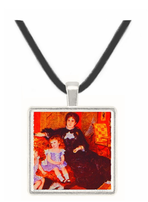 Mme. Charpentier and her Children - Auguste Renoir -  Museum Exhibit Pendant - Museum Company Photo