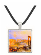 Modern Rome, Camp Vaccino  by Joseph Mallord Turner -  Museum Exhibit Pendant - Museum Company Photo