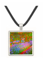 Monet's Garden by Monet -  Museum Exhibit Pendant - Museum Company Photo