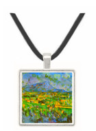 Mont Sainte-Victoire by Cezanne -  Museum Exhibit Pendant - Museum Company Photo
