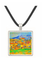 Montaigne Sainte-Victoire, from the environment beu Gardanne of view by Cezanne -  Museum Exhibit Pendant - Museum Company Photo