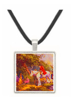 Morning of the Benevolent Sportsman - George Morland -  Museum Exhibit Pendant - Museum Company Photo