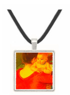 Mother and Child - Auguste Renoir -  Museum Exhibit Pendant - Museum Company Photo