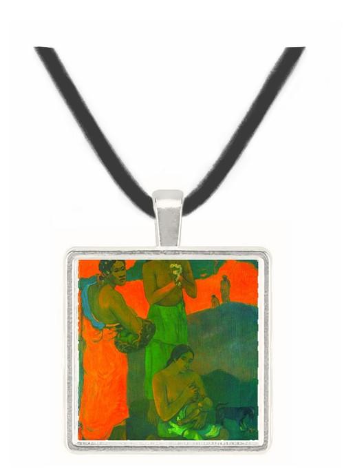 Motherhood by Gauguin -  Museum Exhibit Pendant - Museum Company Photo