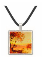 Mountain Lakes - Jasper F. Cropsey -  Museum Exhibit Pendant - Museum Company Photo