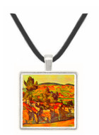 Mountains in Provence by Cezanne -  Museum Exhibit Pendant - Museum Company Photo