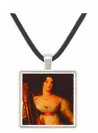 Mrs. Lownds Stone - Thomas Gainsborough -  Museum Exhibit Pendant - Museum Company Photo