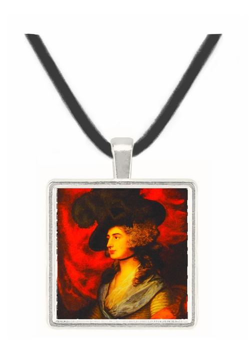 Mrs. Siddons - Thomas Gainsborough -  Museum Exhibit Pendant - Museum Company Photo