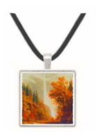 Multnomah Falls - Albert Bierstadt -  Museum Exhibit Pendant - Museum Company Photo