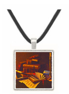 Music & Literature - William Michael Harnett -  Museum Exhibit Pendant - Museum Company Photo