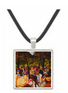 Music in Tuilerie Garden by Manet -  Museum Exhibit Pendant - Museum Company Photo