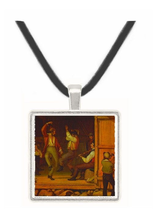 Music is Contagious - William Sidney Mount -  Museum Exhibit Pendant - Museum Company Photo