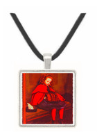 My Second Sermon - Sir John Everett Millais -  Museum Exhibit Pendant - Museum Company Photo