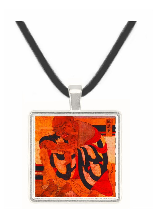 Nirvana - the Death of the Buddha - unknown artist -  -  Museum Exhibit Pendant - Museum Company Photo