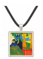 Old Maids in a Winter Garden - Arles by Gauguin -  Museum Exhibit Pendant - Museum Company Photo