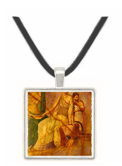 Omphale with the Cupids - National Museum - Naples -  -  Museum Exhibit Pendant - Museum Company Photo