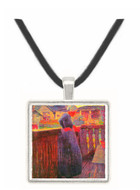 On the balcony by Segantini -  Museum Exhibit Pendant - Museum Company Photo