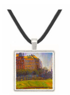 On the Danube Canal by  Richard Gerstl -  Museum Exhibit Pendant - Museum Company Photo