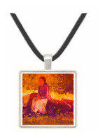On the Fence - Winslow Homer -  Museum Exhibit Pendant - Museum Company Photo