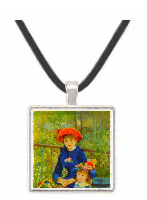 On the Terrace by Renoir -  Museum Exhibit Pendant - Museum Company Photo