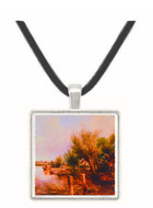 On the Thames near Henley - Frederick William Watts -  Museum Exhibit Pendant - Museum Company Photo