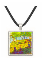 One Sunday on La Grande Jatte, draft by Seurat -  Museum Exhibit Pendant - Museum Company Photo
